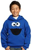 Sesame Street Cookie Monster Face Youth Hoodie