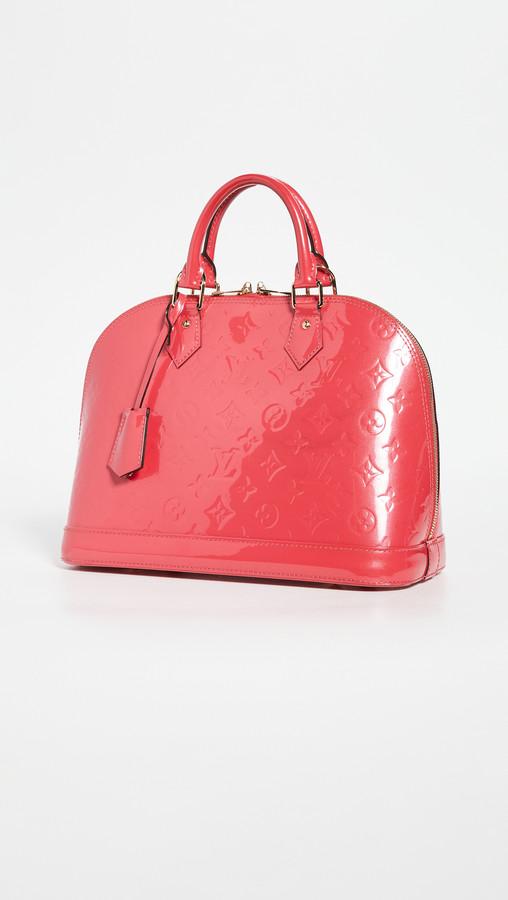 Shopbop Archive Louis Vuitton Alma Pm Monogram Vernis