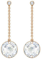Swarovski Globe Linear Drop Earrings