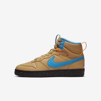 Nike Big Kids' Shoe Court Borough Mid 2 Boot
