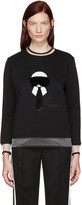 Fendi Black Karlito Pullover