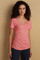 Women Ruched Tee