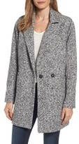 Steve Madden Women's Melange Notch Collar Coat