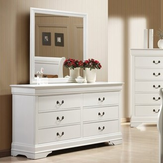Alcott Hillâ® Daleyza 6 Drawer Wood Dresser Alcott HillA