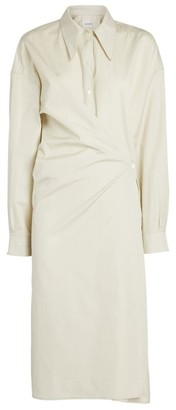 Lemaire Twisted Long-Sleeved Shirt Dress