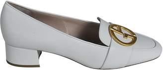 Giorgio Armani Logo Plaque Loafers