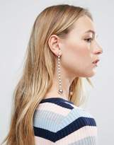 Asos Limited Edition Pearl Strand Drop Earrings