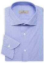 Canali Modern-Fit Plaid-Print Dress Shirt