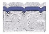Tory Burch Scallop-T Metallic Card Case
