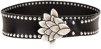 Isabel Marant Lowi Belt in Black | FWRD
