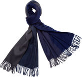 One Kings Lane Four Colorway Cashmere Scarf, Navy
