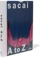 Rizzoli Sacai: A To Z Hardcover Book - Blue