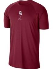 Nike Oklahoma Sooners Men's Alpha Long Sleeve Shirt
