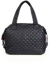 M Z Wallace Sutton Large Quilted Nylon Tote