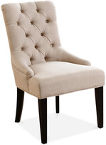 Calyer Fabric Dining Chair, Direct Ship