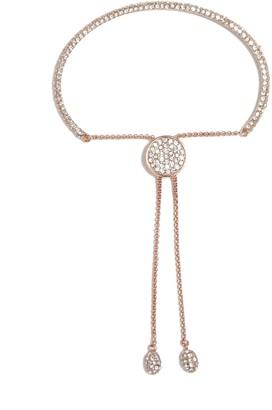 Vince Camuto Rose Goldtone Pave Slider Bracelet