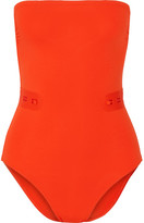 Eres Magic Parade Bandeau Swimsuit - Tomato red