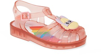 Mini Melissa Possession Unicorn Glitter Sandal