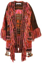 The Extreme Collection Knit Jacket with Fringes Orlanda