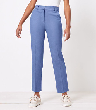 LOFT The Curvy Perfect Straight Pant in Stretch Double Weave