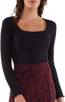 All About Eve Annie Square Neck Rib