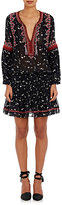 Ulla Johnson Women's Embroidered Gita Dress-NAVY