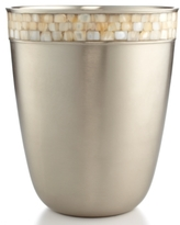 Paradigm CLOSEOUT!Paradigm Bath Accessories, Opal Satin Copper Trash Can