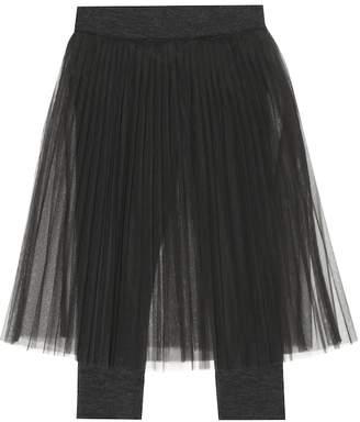 Brunello Cucinelli Kids Wool-blend skirt