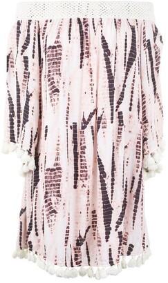 Watercult Batik Bardot Dress