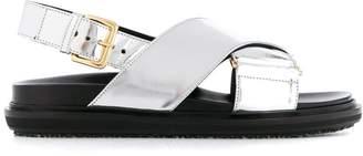 Marni cross-over strap sandals