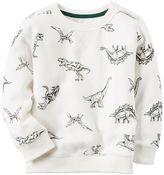 Carter's Boys 4-8 Dinosaur Sweatshirt