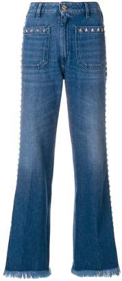 The Seafarer mid rise studded jeans