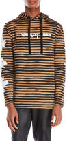 Blood Brother Graphic Stripe Hoodie