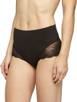 Spanx Undie-Tectable® High-Waist Lace Boyshorts, Black