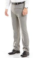 Roundtree & Yorke TravelSmart Double Pleated Ultimate Comfort Waist Non-Iron Herringbone Dress Pants
