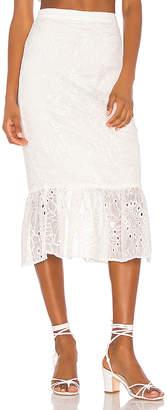 Song of Style Tala Midi Skirt