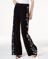 Alfani Floral-Print Palazzo Pants, Only at Macy's