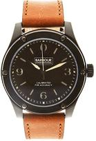 BARBOUR Hartford International Leather Watch