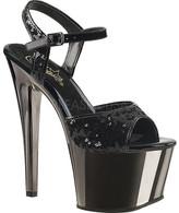 Pleaser USA Women's Sky 310SQ Ankle-Strap Platform Sandal