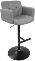 Lumisource Stout Height Adjustable Barstool