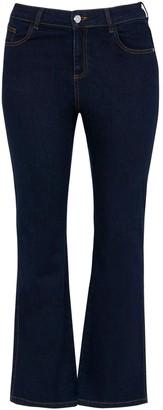 Evans Indigo Bootcut Jeans
