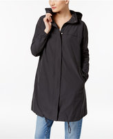 Eileen Fisher Hooded Draped-Back Jacket