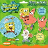 Nickelodeon Spongebob Home Decor Wall Applique Cutouts