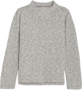 Madewell Brie Cotton-blend Sweater - Cream