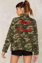 Factory Real Friends Camouflage Jacket