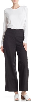 ECI Full Length Linen Blend Pants