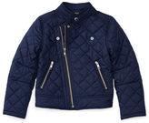 Ralph Lauren 2-6X Quilted Moto Jacket