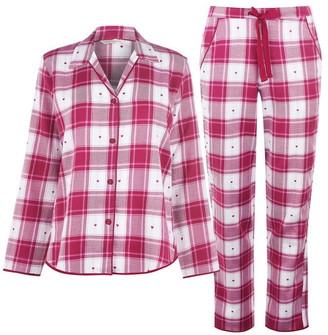 Cyberjammies Dobby Check Pyjama Set