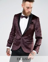 Men Velvet Blazer Suit - ShopStyle