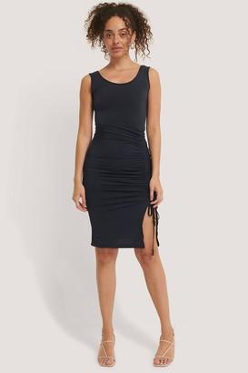 Trendyol Gathered Sleeveless Mini Dress